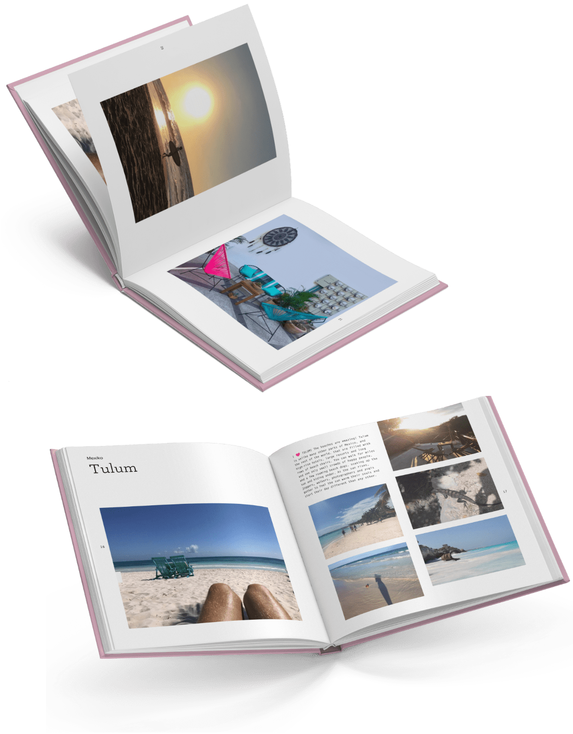 Your travel blog as a photo book | starting at 19.90 €